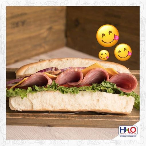 Picture of Hi-Lo Ham Sandwich