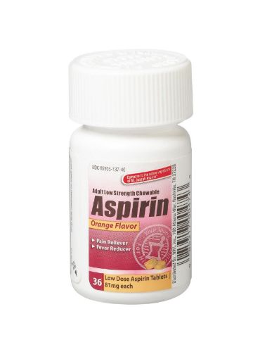 Picture of Aspirin Low Dose (36-81 mg)