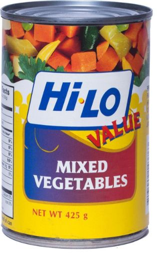 Picture of Hi-Lo Mixed Vegetables (425g)