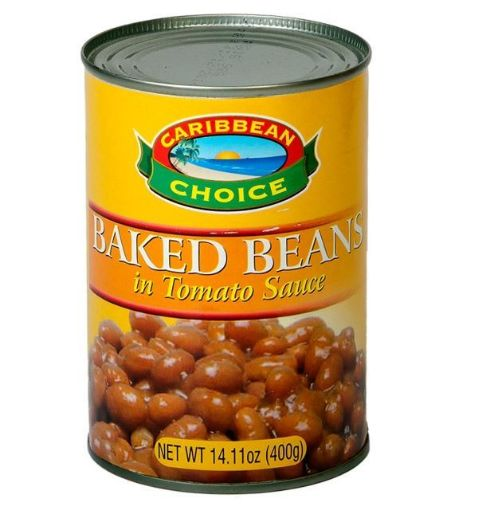 Picture of Carbbean Choice Baked Beans (In Tomato Sauce - 400g)