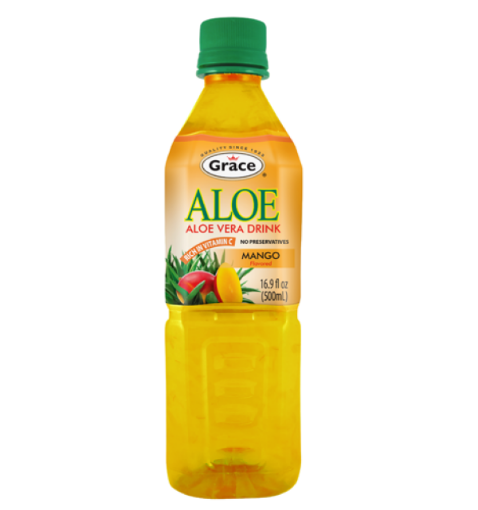 Picture of Grace Aloe Vera Mango Drink (500 ML)