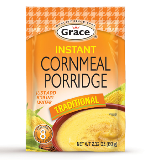 Picture of Grace Instant Cornmeal Porridge (Traditional - 60g)