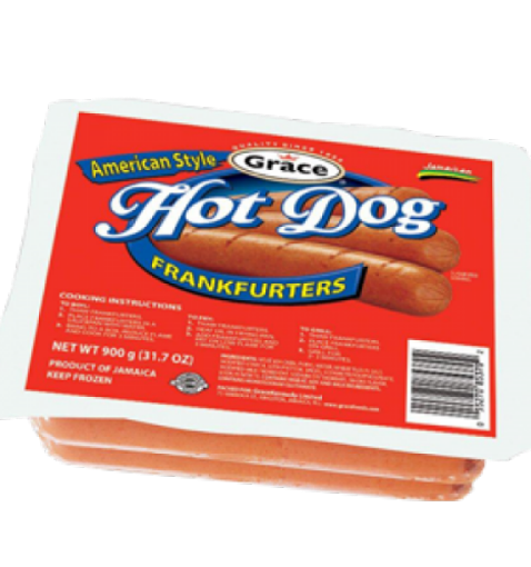 Picture of Grace American Hot Dog Frankfurters (900g)
