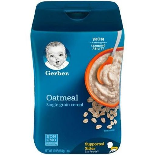 Picture of Gerber Oatmeal Cereal (16 oz)