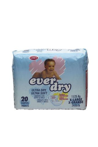 Picture of Lasco Ever Dry Baby Diapers (X-large- 20 pack)