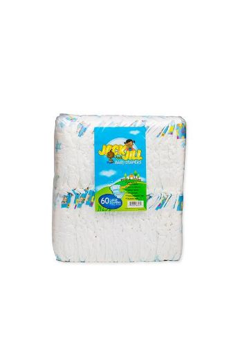 Picture of Lasco Jack & Jill Baby Diapers (Large - 60 pack)