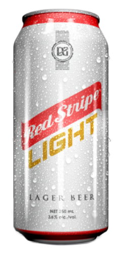 Picture of Red Stripe Light Beer (Can - 250 mL)