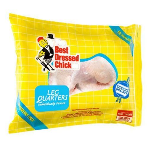 Picture of Best Dressed Individually Frozen Leg Quarters (1 pack - 5 pieces)