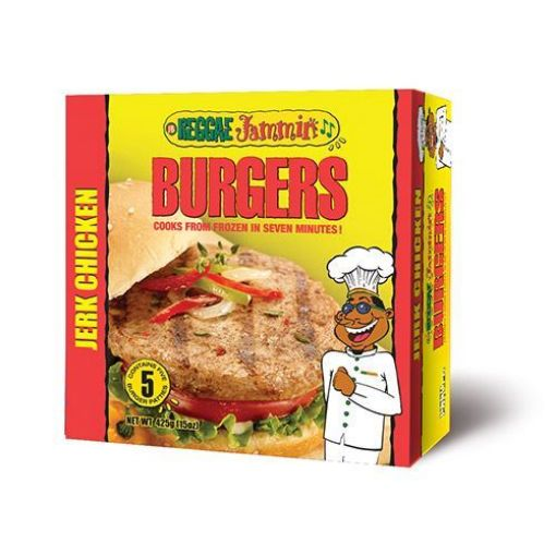Picture of Reggae Jammin Jerk Chicken Burgers (1 pack - 5 Pieces)