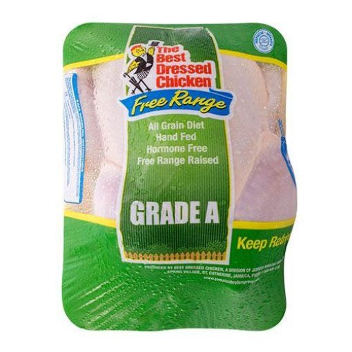 Picture of Best Dressed Chicken Free Range Whole Chicken Tray Pack (1 Unit - without giblet)
