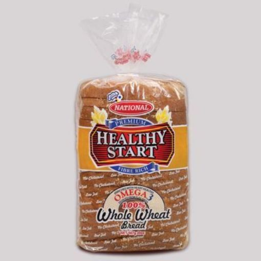 Picture of National Healthy Start Sliced Bread (Omega 3 - 100% Whole Wheat - 567g)