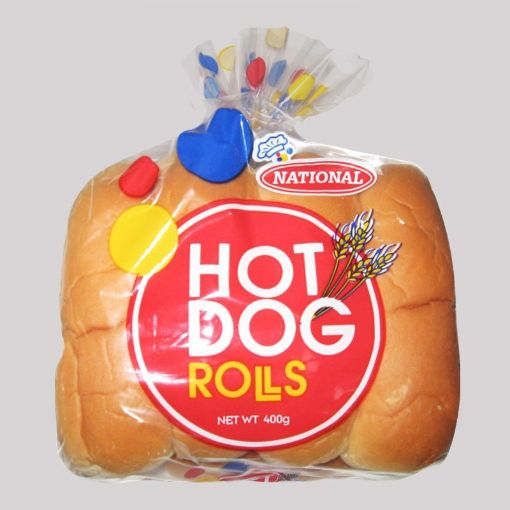 Picture of National Hot Dog Rolls (400g)