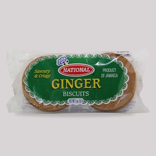 Picture of National Ginger Biscuits (2 pack - 57g)