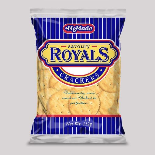 Picture of HoMade Royals Crackers (112g)
