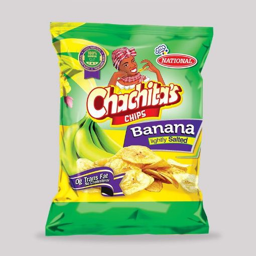 Picture of National Chachitas Chips (Banana Lightly Salted - 90g)