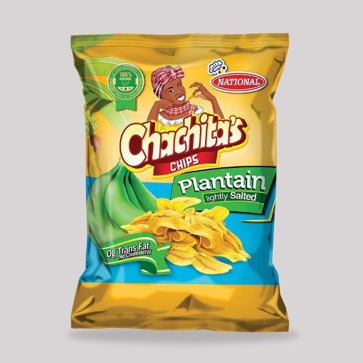 Picture of National Chachitas Chips (Green Plantain Lightly Salted - 90g)