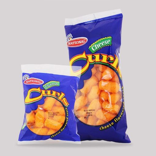 Picture of National Cheese Curls (64g - Large 1 Unit)