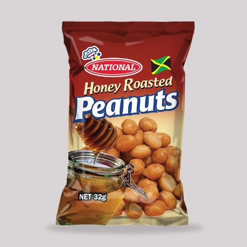 Picture of National Honey Roasted Peanuts (32g)