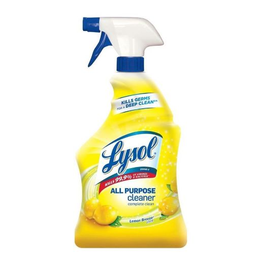 Picture of Lysol-All-Purpose-cleaner-with-Lemon Breeze (32oz)