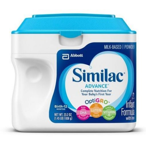 Picture of Similac Advance OptiGrow Milk (Birth - 12 - 658g/23.3oz)