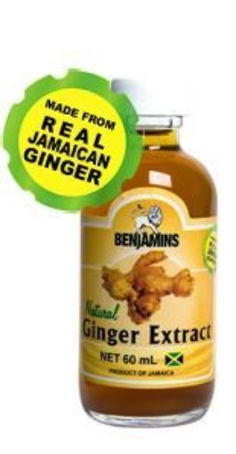 Picture of Benjamins Ginger Extract (60ml)