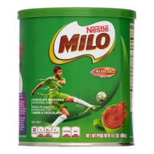 Picture of Nestle Milo Nutrition Drink Mix, Chocolate (400g/14.1 Oz)