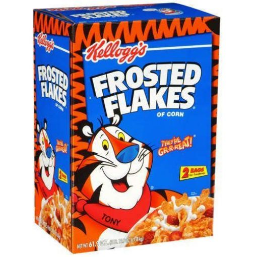 Picture of Kellogg's Frosted Flakes 2 Bags in Box (61 oz/1.67kg)
