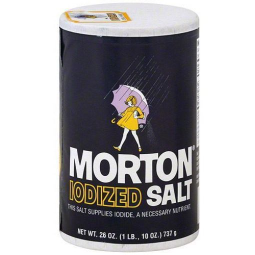 Picture of Norton Iodized Salt (26oz/737g)