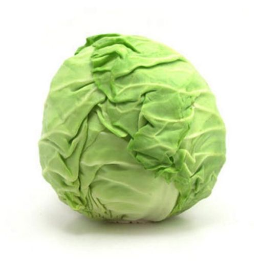 Picture of Green Cabbage (Estimated 1lb/453g)