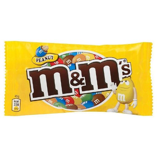 Picture of M&M Peanut Chocolate Candies (45g)