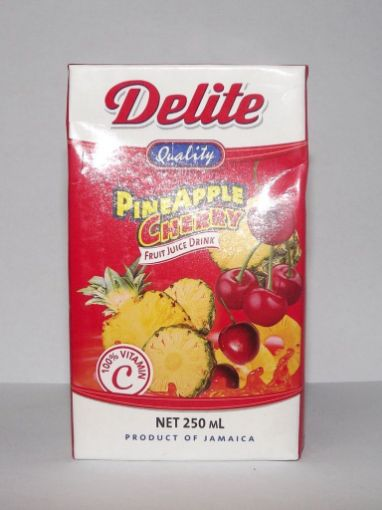 Picture of Delite Pineapple Cherry Juice (250ml)