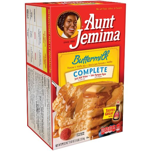 Picture of Aunt Jemima Buttermilk Complete Pancake & Waffle Mix (5lbs/2.26kg)
