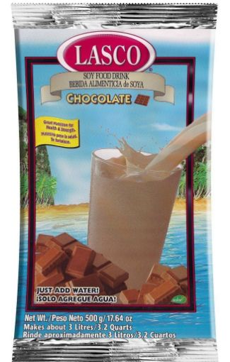 Picture of Lasco Soy Chocolate Food Drink (17.64 oz/500g)