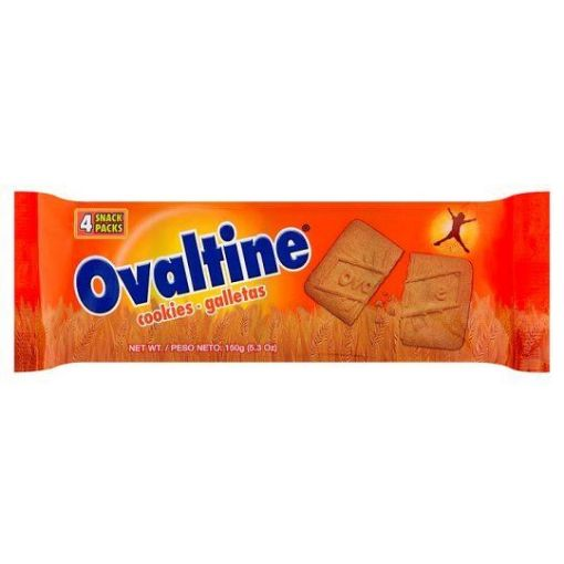 Picture of Ovaltine Cookies ( 4 Snack Packs - 5.3oz/150g)
