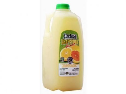 Picture of Tru-Juice 1/2 Gallon Grapefruit Juice