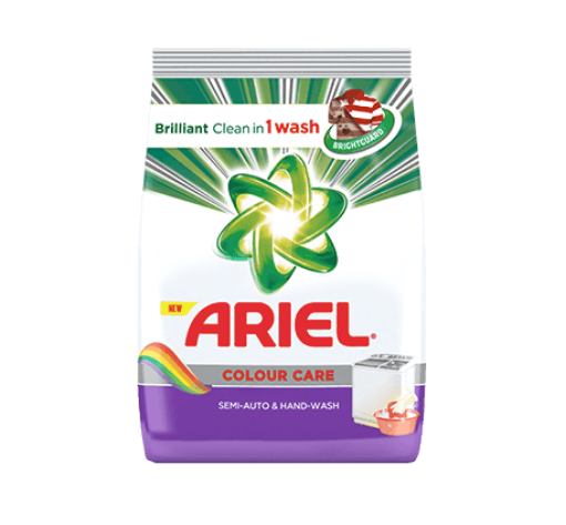 Ariel Colour Powdered Detergent 400g