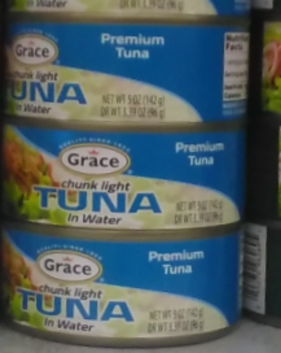 Grace Chunk Light Tuna in Water - Pack of 3