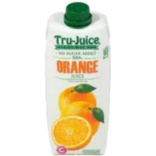 Picture of Tru-Juice 100 % Orange Juice  No Sugar Added 1.75L