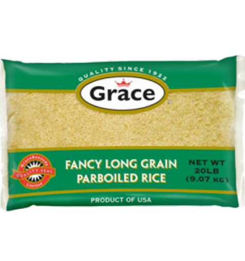 Picture of Grace Fancy Long Grain Parboiled Rice (9.07 kg)