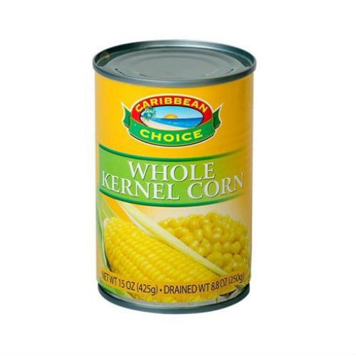 Picture of Caribbean Choice Whole Kernel Corn (425g)