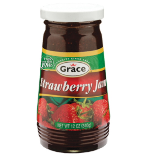 Picture of Grace Strawberry Jam (340g)