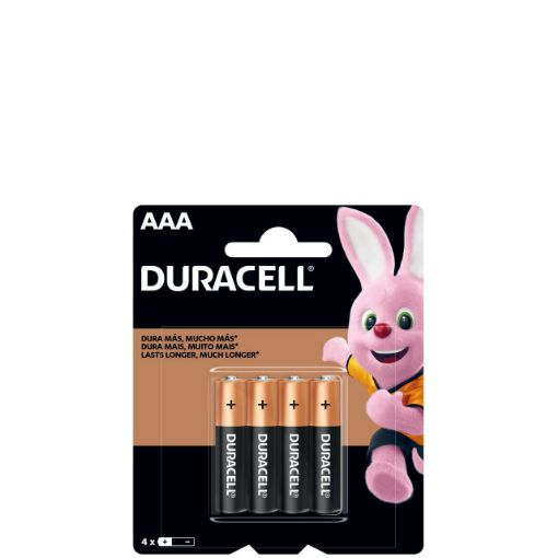 Picture of Duracell AAA Batteries (Pack of 4)