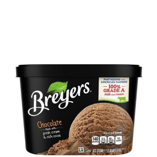 Picture of Breyers Chocolate Ice Cream (1.42L/1.5QTS)