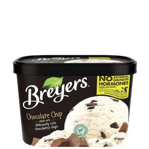 Picture of Breyers Chocolate Chip Ice Cream (1.42L/1.5QTS)