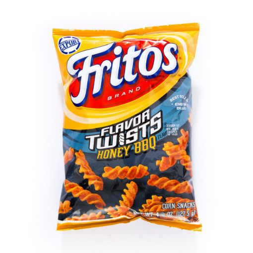 Picture of Fritos Twists Honey BBQ (4.5 oz/ 127.57g)