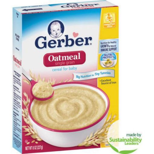 Picture of Gerber Oatmeal Cereal (8oz/227g)
