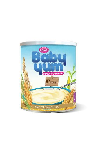 Picture of Lasco Baby Yum Infrant Formula (1 and Up Milk Food  - 210g / 7.41oz)