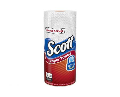 Picture of Scott Paper Towels, Single Roll