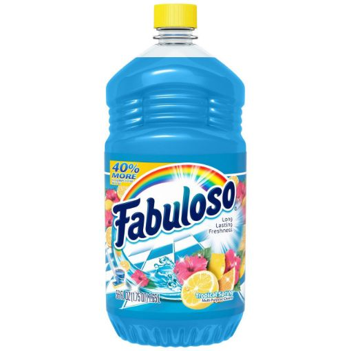 Picture of Fabuloso Disinfectant Tropical Springs (56 0z/1.65L)