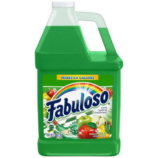 Picture of Fabuloso Disinfectant Passion of the Fruits (128 0z/3.78L)